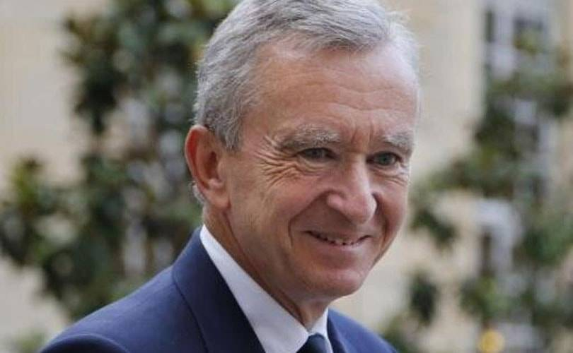 LVMH chairman Bernard Arnault buys stake in Lagardere holding company