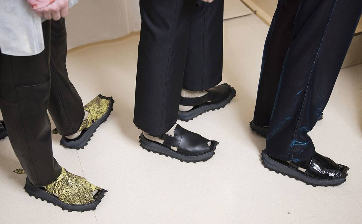 Key Men's Footwear on the Catwalks Spring Summer 2020