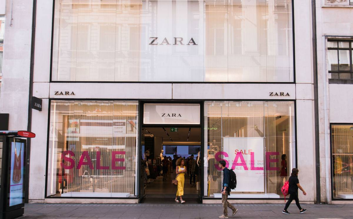 Inditex reports drop in FY20 sales and profit