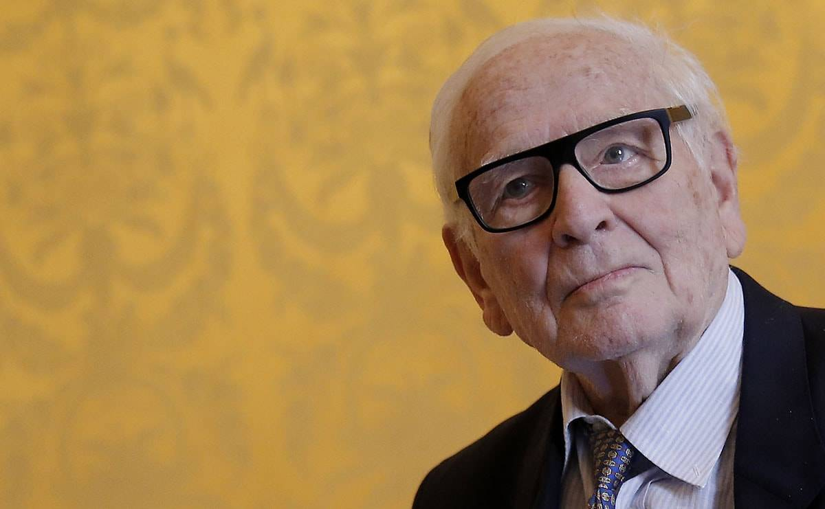 Designer Pierre Cardin dies at the age of 98