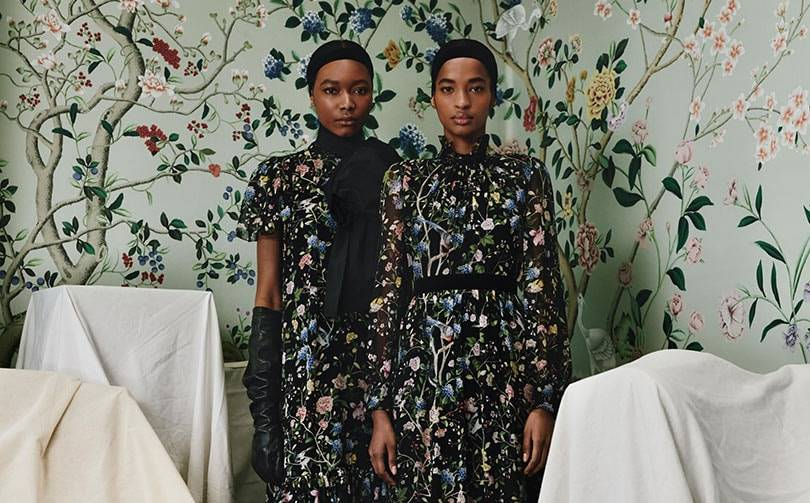 Erdem collaborates with de Gournay