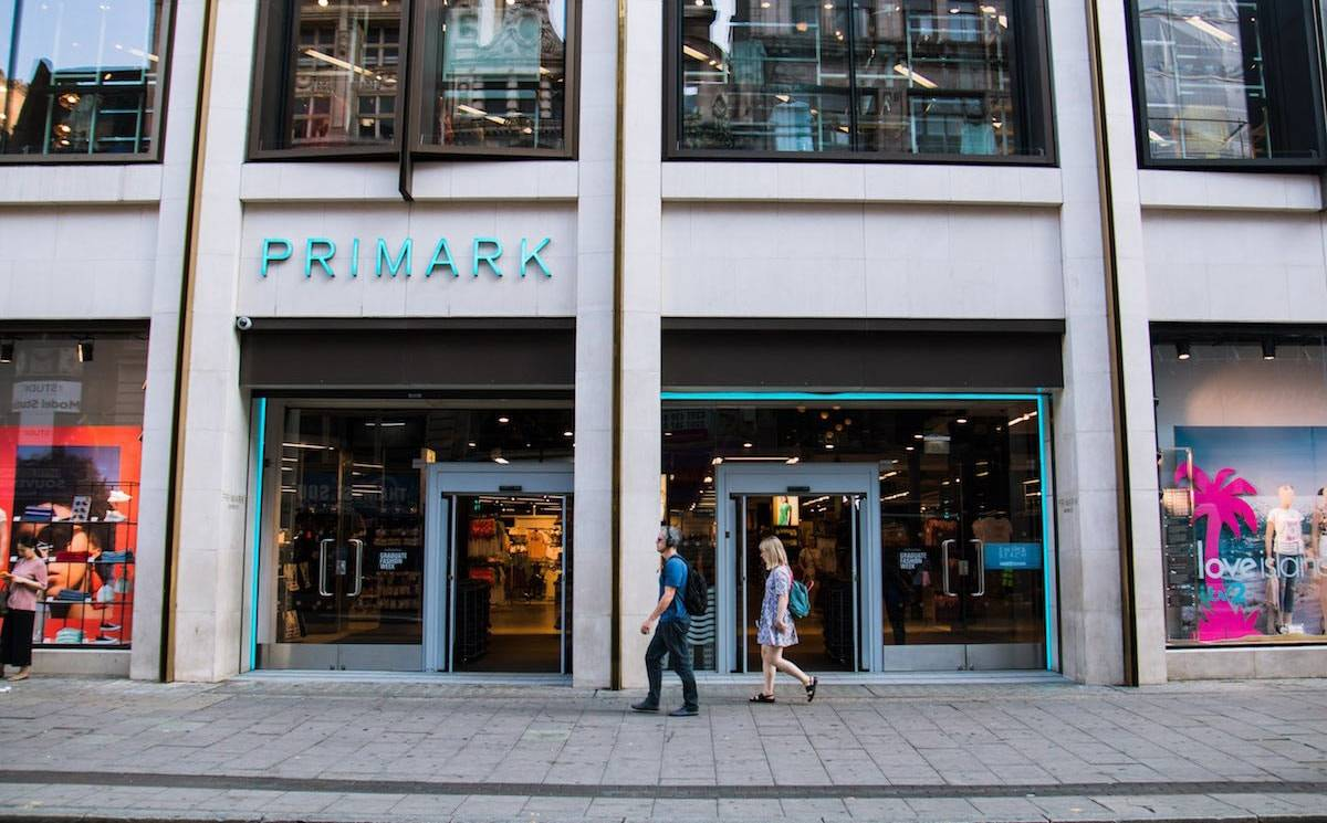 Primark takes 284 million pound hit from excess stock