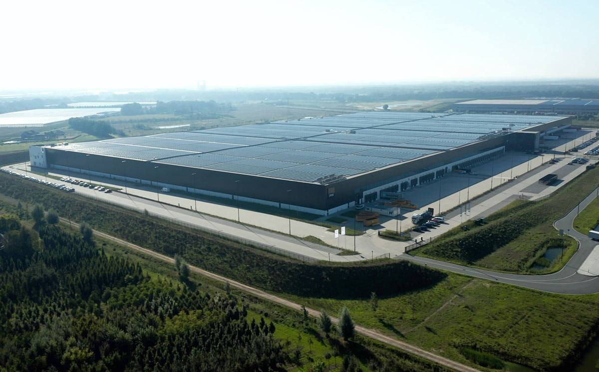 PVH Europe introduces solar powered warehouse
