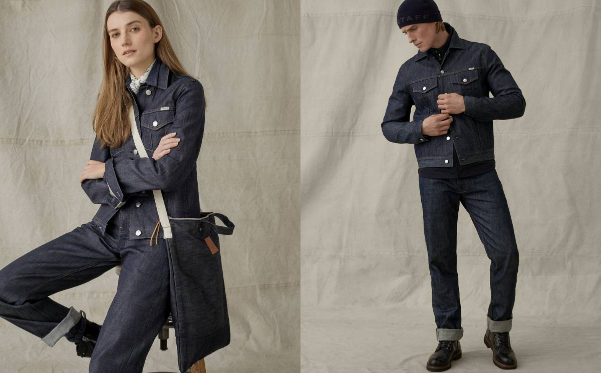 Belstaff collaborates with Blackhorse Lane on sustainable denim