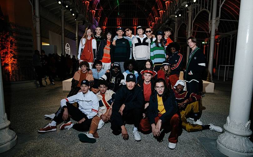 Dao-Yi Chow presents debut collection for Sergio Tacchini