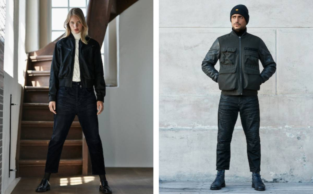 G-Star Raw introduces world's most sustainable black denim fabric