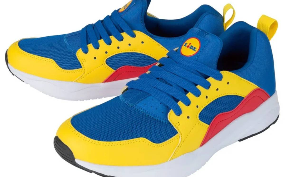 Lidl has relaunched its ultra cheap 12,99 euro sneaker