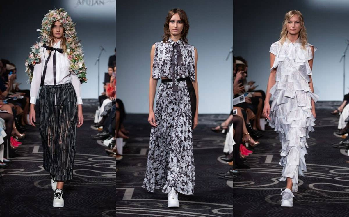 LFW SS20: ApuJan 'A strange thief of time'
